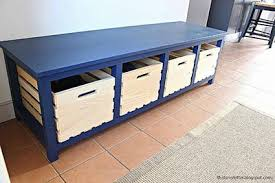 Diy Wood Storage Bench by 17 Free Workbench Plans And Diy Designs