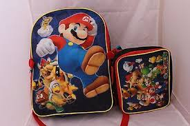 sale 16 super mario brothers kart wii yoshi luigi backpack