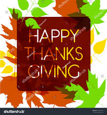 watercolor design style happy thanksgiving day stock vector