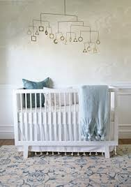 How Big Is A Crib Mattress by A Sweet Serene And Sophisticated Nursery One Room Challenge