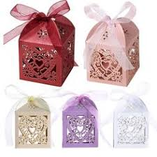 Wedding Candy Boxes Wholesale Multicolor Style Laser Cut Favor Boxes Wholesale Luxury Wedding