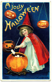 vintage halloween clip art sweet little witch the