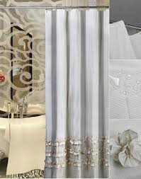 Shower Curtains by Gray Lace Polyester Luxury Shower Curtains