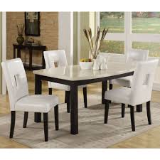 White Dining Table With Black Chairs Kitchen Amazing Tall Kitchen Table Black Dining Table White