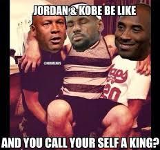 Kobe Lebron Jordan Meme - pin by love guevara on his airness mj pinterest sibling rivalry