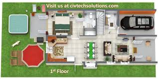 luxury villa floor plans designed and built by civtech solutions the casuarina grande