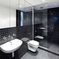black and white bathroom decorating ideas black bathroom tiles ideas thesouvlakihouse com