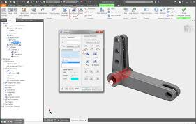 nastran in cad 2018 for inventor help section 5 cast lever exercise