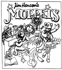 paper dolls muppets comic strip