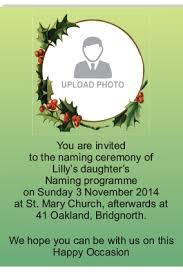 ceremony cards naming ceremony invitation namkaran invitation cards online in