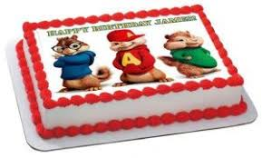 alvin and the chipmunks cake toppers alvin and the chipmunks birthday cake toppers a birthday cake