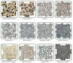 White Pebble Tiles Bathroom - https i pinimg com 736x 6c 00 4b 6c004bd1e690028