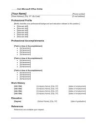 Libreoffice Resume Template Office Resume Template Download Free Resume Example And Writing