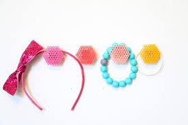 a kailo chic life craft it ombre perler bead hexagon wall hooks
