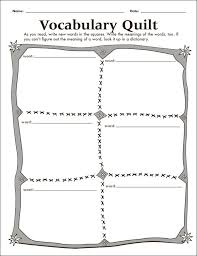 18 vocabulary graphic organizers images frayer model graphic