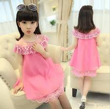 dress pearl necklace images 2018 2017 summer girls party dress pearl necklace children clothes jpg