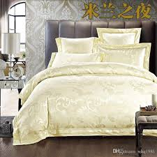 classic wedding jacquard silk comforter quilt duvet cover queen