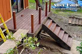 deck stairs how we build stairs alter eagle deck