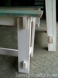 Distressed Table Diy Weathered Table Finish