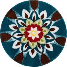 Round Rug 6 by Inspiration 4 Foot Round Rugs Nuloom Handmade Alexa Moroccan