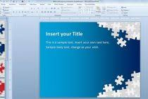 theme for powerpoint download free download free puzzle pieces