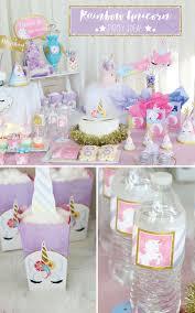 unicorn party supplies magical rainbow unicorn party supplies marshmallow pop ideas