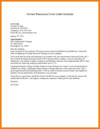 sample hr cover letter ideas sample resume for information