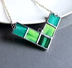 glass jewelry necklace images 666 best stained glass jewelry images glass jewelry jpg