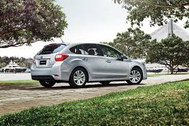 white subaru hatchback new subaru impreza sedan cars for sale carsales com au