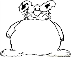 fat bunny frame coloring free holidays coloring pages