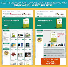 green theme ebay custom listing template design with stripped