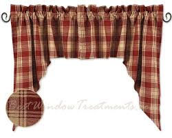 Plaid Kitchen Curtains Valances by Red Plaid Kitchen Curtains Images Where To Buy Kitchen Of Dreams