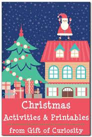 Kid Crafts For Christmas - christmas activities for kids including christmas printables