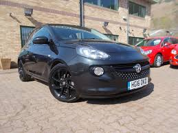 used vauxhall adam 1 2 energised black 1 2 hatchback newport