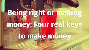 cmt level 1 being right or making money four real keys to make