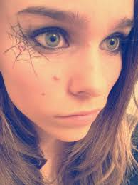 Spider Makeup Halloween how to do spider web eye makeup mugeek vidalondon