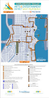Tri Rail Map West Palm Beach New Downtown Trolleys To Serve Museums Other