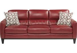 dark red leather sofa red leather sofas couches modern with 12 lofihistyle com cheap red