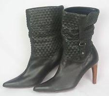 womens leather boots size 9 nana boots ebay