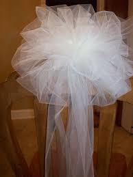 Bows For Chairs Best 25 Tulle Pew Bows Ideas On Pinterest Wedding Pew
