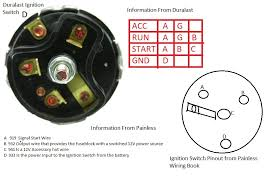 mustang ignition switch wiring diagram diagram wiring diagrams