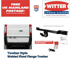 genuine witter dt124b fixed towbar for nissan navara d40 chrome