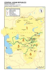 Tajikistan Map Www Rotterdamtransport Com Maps Groupage By Road
