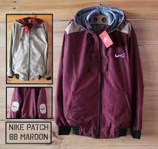 Jual Jaket Nike Parasut jaket nike parasut merah maroon jaket parasut murah