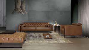 Sofa Leather Fabric Contemporary Sofa Leather Fabric 3 Seater Niobe 956