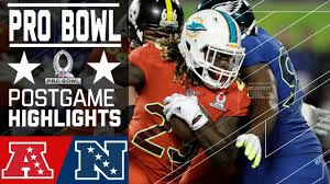 Pro Bowl Orlando by Afc Vs Nfc 2017 Nfl Pro Bowl Game Highlights Youtube