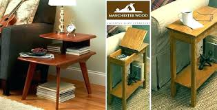 wood end tables with drawers small end tables drawers narrow end table with drawers storage