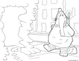 bing bong inside out coloring pages printable