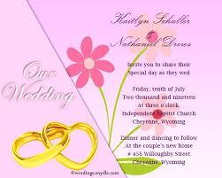wedding invitation cards wordings wording for wedding invitations ryanbradley co