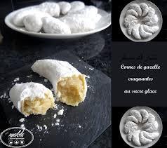 corne de cuisine cornes de gazelle au sucre glace makla la cuisine authentique